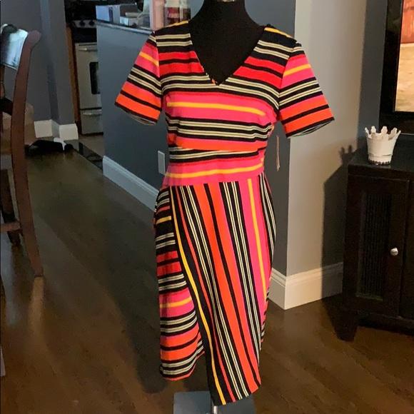 ECI Dresses & Skirts - 🆕 Eci New York Stripped Stretch Bodycon Dress
